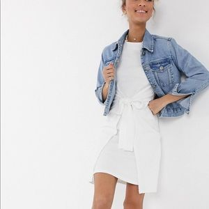 ASOS white mini dress